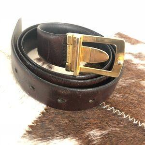 Yves Saint Laurent Accessories - YSL belt reversible belt